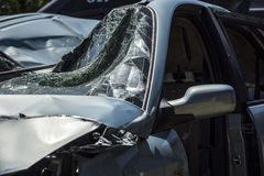 Car crash Royalty Free Stock Photos
