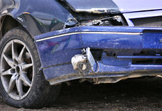 Car crash Stock Photography