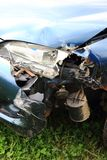 Car crash detail Royalty Free Stock Photography
