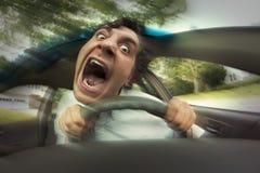 Car Crash Face Royalty Free Stock Photos