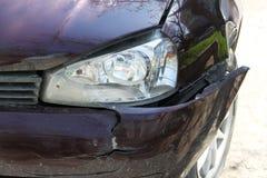 Car crash1 Royalty Free Stock Images