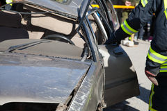 Car crash Stock Images