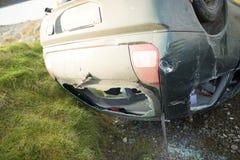 Car crash Royalty Free Stock Photo