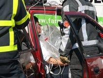 Car Crash Victim Stock Images