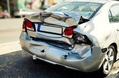 Car crashed Stock Photo