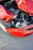 Car crashed Royalty Free Stock Image