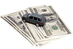 Car in credit Stock Images