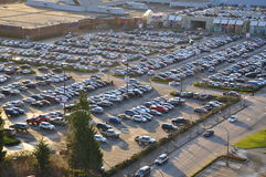 Car crowded parking place Stock Photography