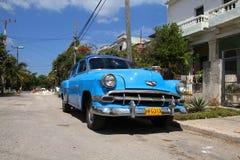 Car in Cuba royalty free stock image