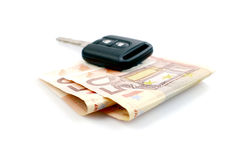 Car Currency Royalty Free Stock Photo