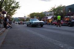 Car D` lane, Classic car show Stock Photos