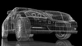 Car 3D model Stock Photos