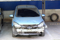 Car damage Stock Photo