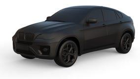 Car dark clay Stock Photos