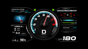 Free Car Dash Board Vector Illustration Eps 10 002 Stock Photography - 89212432
