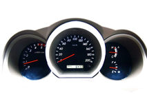 Car dashboard Stock Photography