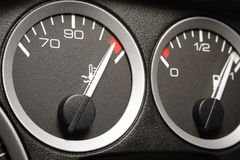 Car dashboard Royalty Free Stock Images