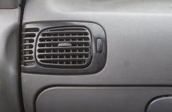 Car Dashboard. AC window in car Stock Photography