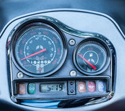 Car Dashboard. Close up image of car dashboard Royalty Free Stock Image