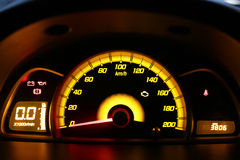 Car dashboard. Close view of car dashboard Royalty Free Stock Photo