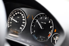 Car dashboard detail Stock Photo