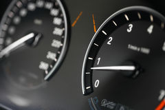 Car dashboard detail Royalty Free Stock Images