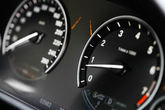 Car dashboard detail Royalty Free Stock Photography