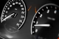 Car dashboard detail Royalty Free Stock Photos
