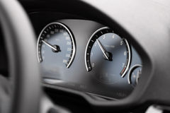 Car dashboard detail Royalty Free Stock Image