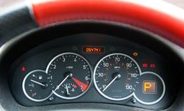 Car dashboard Stock Photos