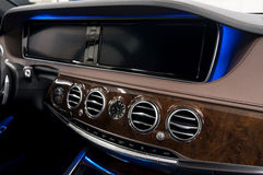 Car dashboard. royalty free stock images