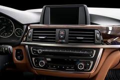 Car dashboard. Stock Photography