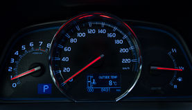 Car Dashboard Royalty Free Stock Photos