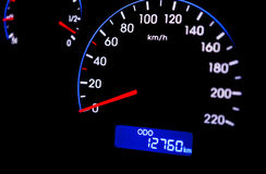 Car Dashboard Royalty Free Stock Photography