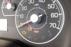 Car dashboard. New tecnology auto Stock Photos
