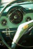 car dashboard vintage Στοκ φωτογραφία με δικαίωμα ελεύθερης χρήσης