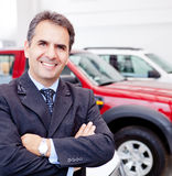 Car dealer Royalty Free Stock Image