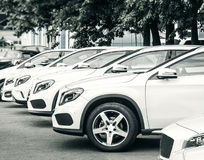 Car dealer center Royalty Free Stock Images
