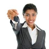 Car dealer Royalty Free Stock Photos