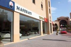 Car dealer in Porto Arabia, Doha Royalty Free Stock Images