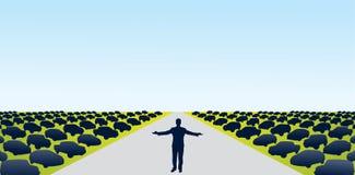 Car Dealership. Design elements for car dealership ad Stock Image
