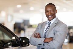Car dealership principal Stock Photo