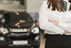 Car dealership salon. Stock Image