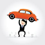 Car Debt Stock Images