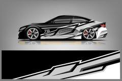 Free Car Decal Wrap Design Vector. Stock Photo - 150403090