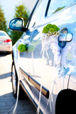 Car decorated for wedding Stock Photography