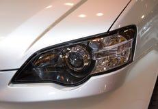 Car detail. Headlight detail Stock Photo