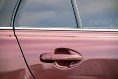 Car detail royalty free stock photography