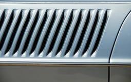 car detail diagonal louvre στοκ εικόνες