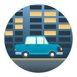 Car Detailed Transport Illustration Royalty Free Stock Photography